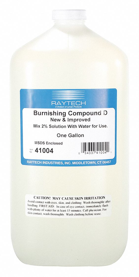 Liquid Burnishing Compound D,  1 gal