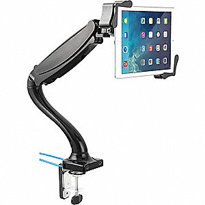 "Tablet Mount, 9-1/4"" L, Black"
