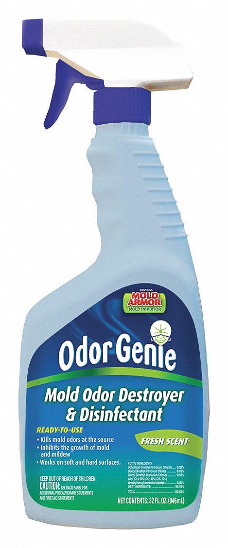 ODOR GENIE Mildew and Mold Remover 32 oz Trigger Spray Bottle