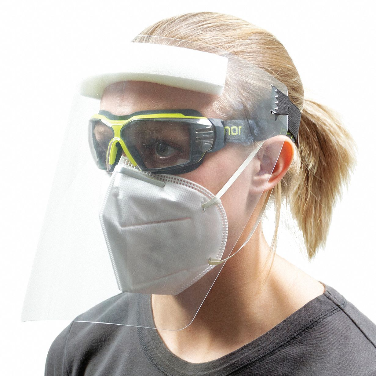 Disposable,  Faceshield Assembly