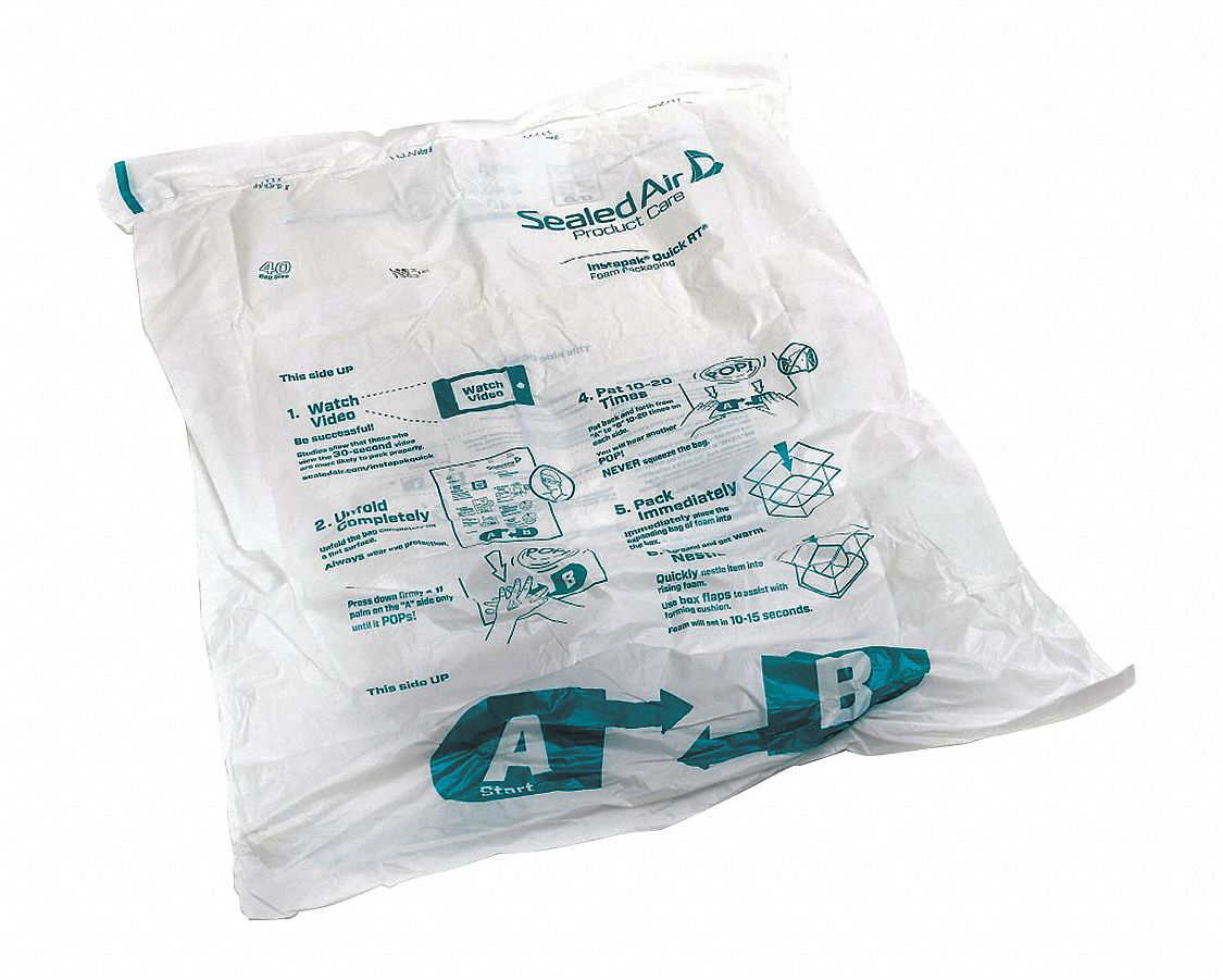 Instant Foam without Warming System,  Bag Number 40,  Bag Width 24 in,  Bag Length 18 in,  PK 30