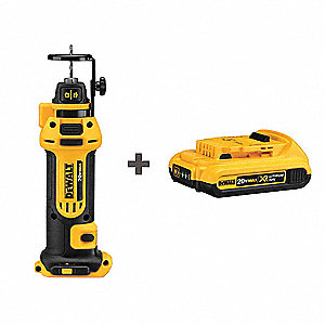 Cordless Cut Out Tool Kit, Voltage 20.0 Li-Ion, Battery Included, 26,000 No Load RPM