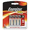 Batería, Alcalina, Serie Max, Baterías por Paquete 4