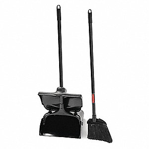 "Lobby Broom and Dust Pan, 35"" Overall Length"