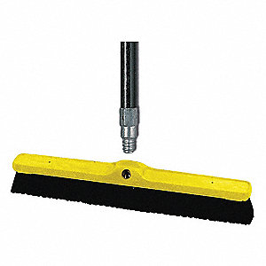 "Synthetic Push Broom, 24"" Sweep Face"