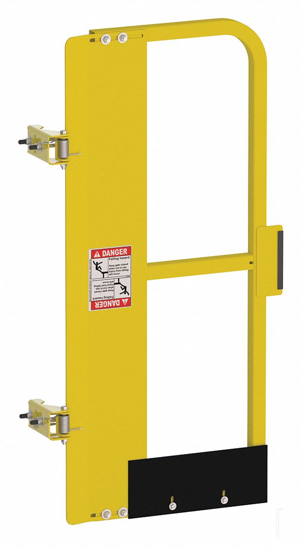 "Safety Gate,Adj,FH,28 to 32"",Yellow,  Gate,  Steel"