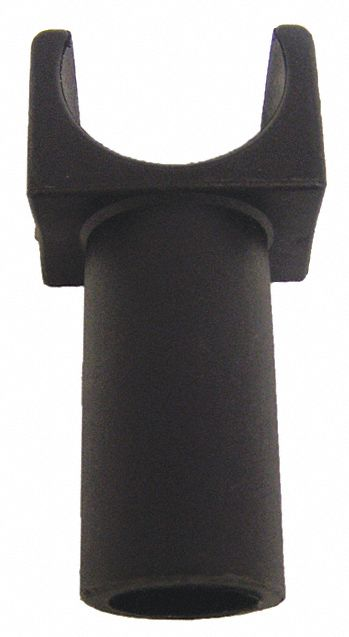 Rear Seat Guide, Removable Arm, Black