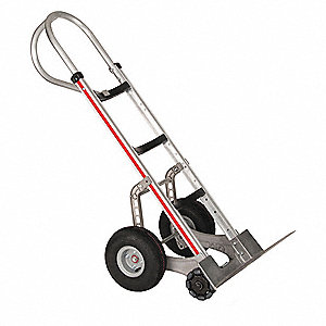 Self-Stabilizing Hand Truck, 500 lb. Overall Height 52""