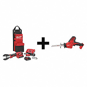 Battery Operated Crimping Tool Kit,18.0V