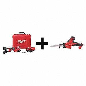 Cordless Cable Cutter Kit,18.0V
