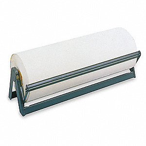 "Steel Paper Dispenser with Cutter, 36"" Width"