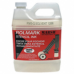 Rolmark Solvent Cleaner, For Use With Mfr. No. 20903