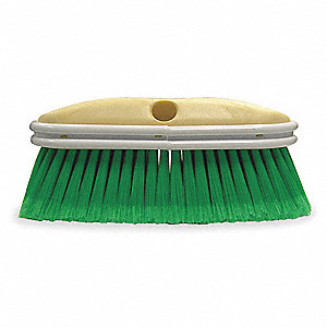 "Car Wash Brush,10"" L,Green"