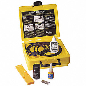 3 ft./Cord Stock Dia. Buna N Standard Splicing Kit&#x3b; Number of Pieces: 6