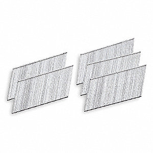 Angled Finish Nail,15 ga,2 In,PK3655