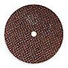 """Disco de Corte Abrasivo Tipo 1, Diámetro 3"""", Abrasivo de Óxido de Aluminio, Orificio del Eje 1/4"""", Grosor 0.062"""", 25465 RPM Máx."""
