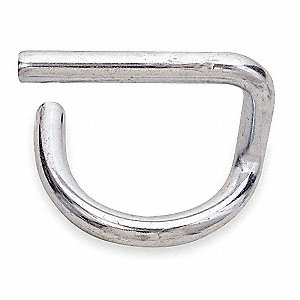 "Scaffold Pigtail Pin, 2"" Overall Height, 2"" Overall Length"
