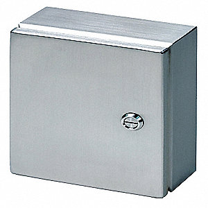 "13.80"" x 11.80"" x 5.90"" 316L Stainless Steel Enclosure"