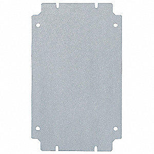 Interior Panel, Carbon Steel, Zinc Plated Finish, For Use With: JB Hinge Cover Junction Boxes