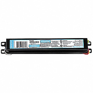 Electronic Ballast, 35 Max. Lamp Watts, 120/277 V, Programmed Start, No Dimming