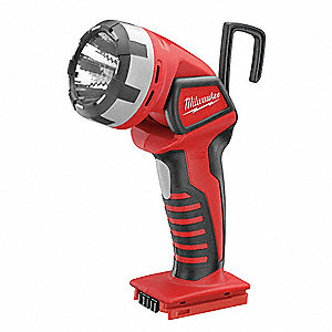 Rechargeable Worklight,Red/Black,Xenon,