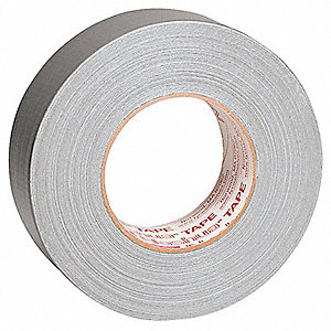 55m x 48mm Polyethylene Coated Cloth Duct Tape, Silver