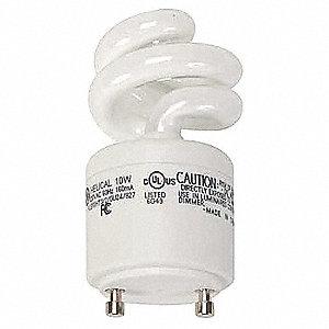 PLUG-IN CFL, 10W, NON-DIMM, 2700K
