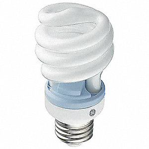 Screw-In CFL,Non-Dimmable,8000 hr.,2500K