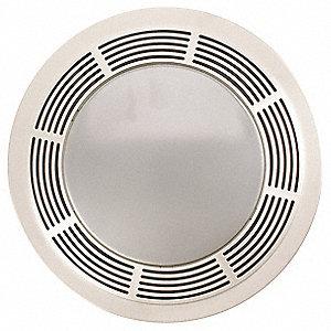 9 X 6 Medium Profile Bathroom Fan 100 Cfm Close