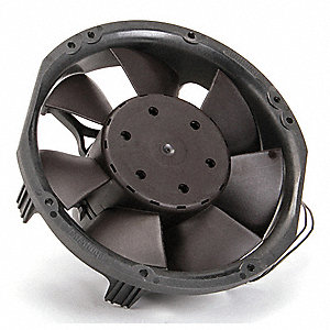"Round Axial Fan, 6-3/4"" Fan Dia., 115/230VAC Voltage"