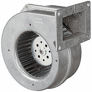Rectangular OEM Blower With Flange, Voltage 115, 2320 RPM, Wheel Dia. 4-3/4""