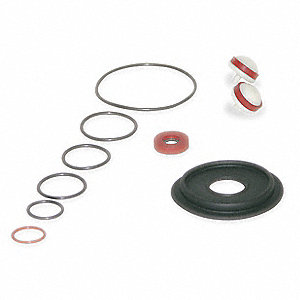 Backflow Preventer Repair Kit, For Use With Mfr. No. 009QT, 1/2 SS009M3QT