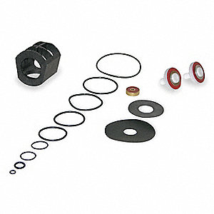 Backflow Preventer Repair Kit, For Use With Mfr. No. 009-M1-QTS, 009QT