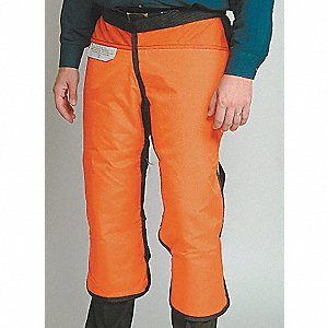 Chain Saw Chap, 2XL, Orange