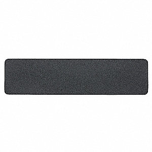 "24"" x 6"" Mineral Coated Antislip Tape, Black"