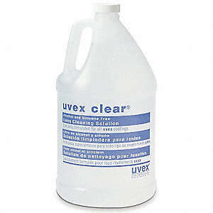 Lens Cleaning Solution,Non-Silicon,128oz