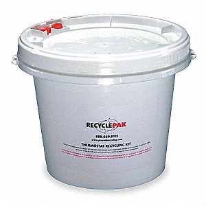 Mercury Device Recycling Kit,1 gal