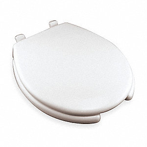 Fabulous Round Standard Toilet Seat Type Open Front Type Includes Cover Yes White Slow Close Hinge Pdpeps Interior Chair Design Pdpepsorg