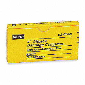Gauze Compress,4In,NonAdhrnt,Unitized
