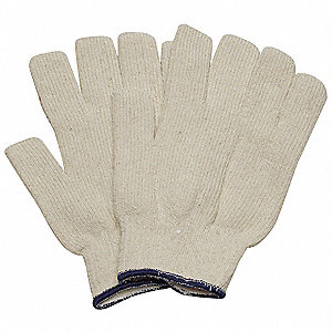 Heat Resistant Gloves, Cotton, 250°F Max. Temp., Men's S, PR 1