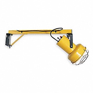 "Incandescent Dock Light, 25"" Arm Length, 150 to 300 Lamp Watts, 120 Voltage"
