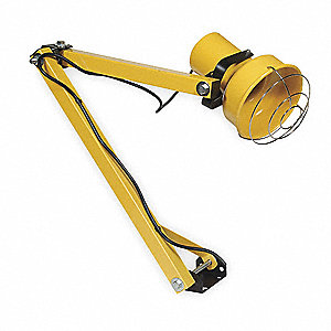 Dock Light,Incandescent,40 In Arm