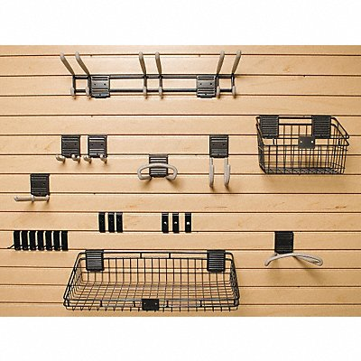 5AZA0 - Basic Slat Wall Accessory Kit 21 Pieces
