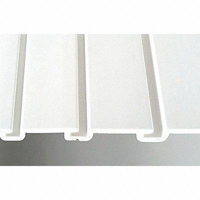 5AZA7 - Slat Wall H 12 W 48 White PK6
