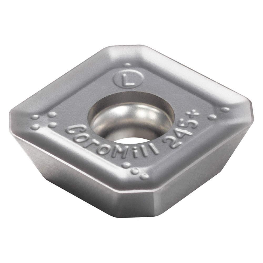 SANDVIK COROMANT Milling Insert, R245-12 T3 E-PL S30T