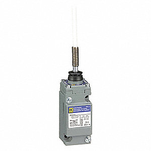 Wobble Stick Heavy Duty Limit Switch; Location: Top, Contact Form: 1NC/1NO, Any Direction Movement