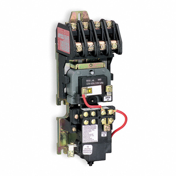 SQUARE D Lighting Magnetic Contactor, 277VAC Coil Volts