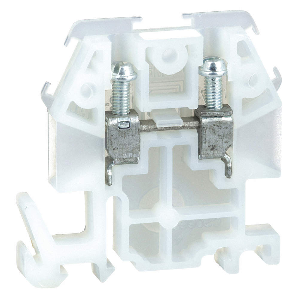 SQUARE D Terminal Block, 600VAC Voltage, 30 Amps, 10 AWG Max. Wire ...
