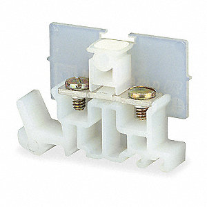 Terminal Block, 600VAC Voltage, 40 Amps, 12 AWG Max. Wire Size, 22 AWG Min. Wire Size