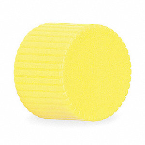 30mm Plastic Push Button Cap, Illuminated, Yellow